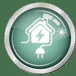 icone maison electricite 18 e