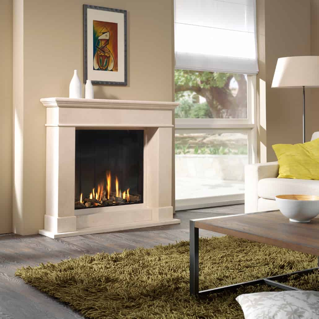 Artisan Optica Glass Fronted Gas Fire