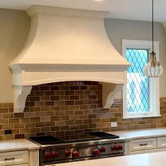 Country Kitchen Range Hoods Pulls And Knobs Cast Stone | Vent Custom ...