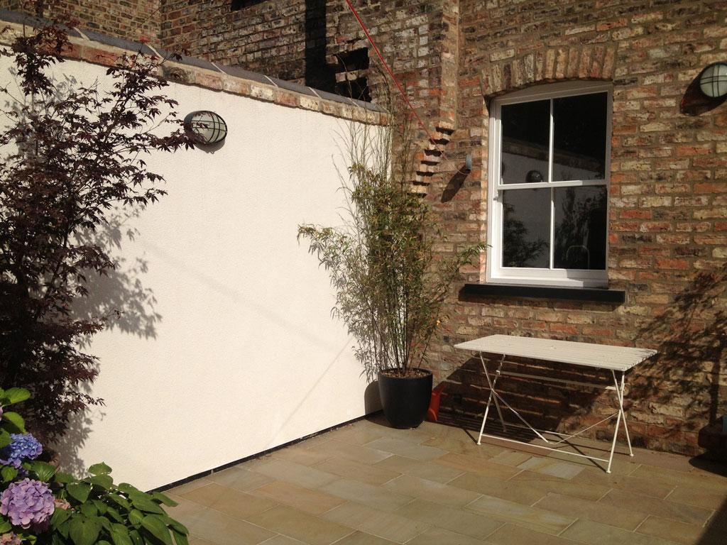 Terraced house yard ideas for Garden design ideas terraced house