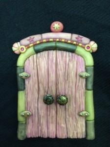 Unique Fairy Door by Julie