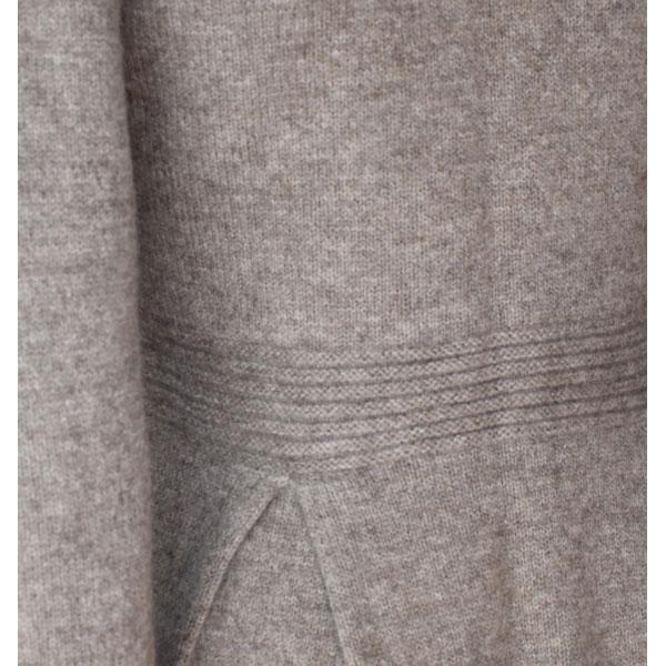 manteau femme en laine yack