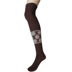 chaussettes longues en laine