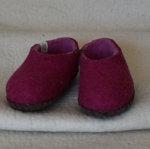 chaussons fille