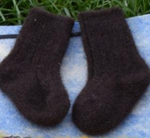 chaussette bebe laine yak