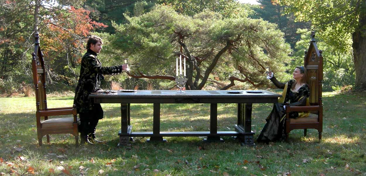 Artisans of the Valley  Hand Crafted Custom Tables Gothic