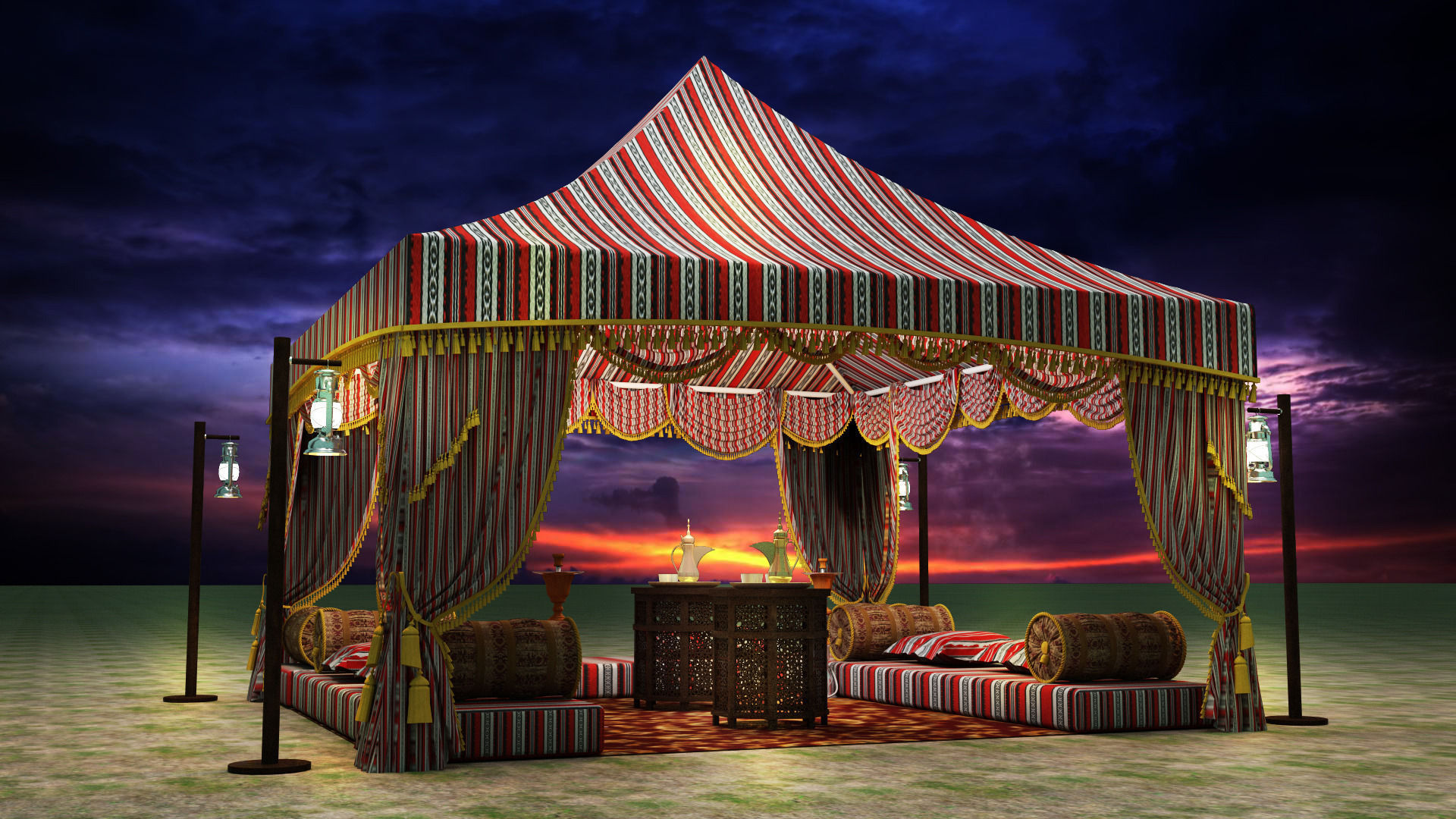 What You Need To Know About Arabic Tents In Dubai