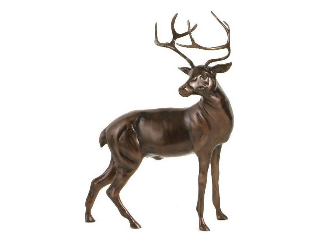 Large Stag Statue Bronze Stag Sculpture