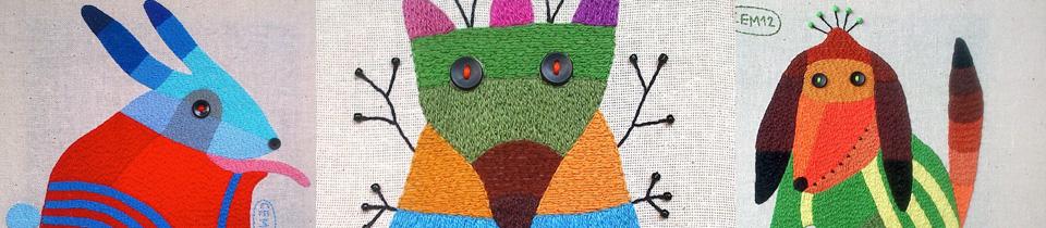 Ivan Semesyuk's Embroideries.