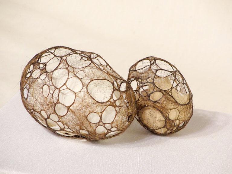 eggs sculptures