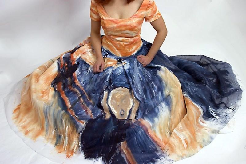 munch-scream-dress