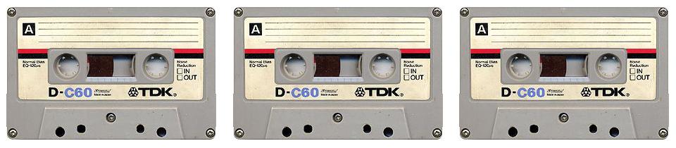 Casette Tape Resurrection. By Benoit Jammes.