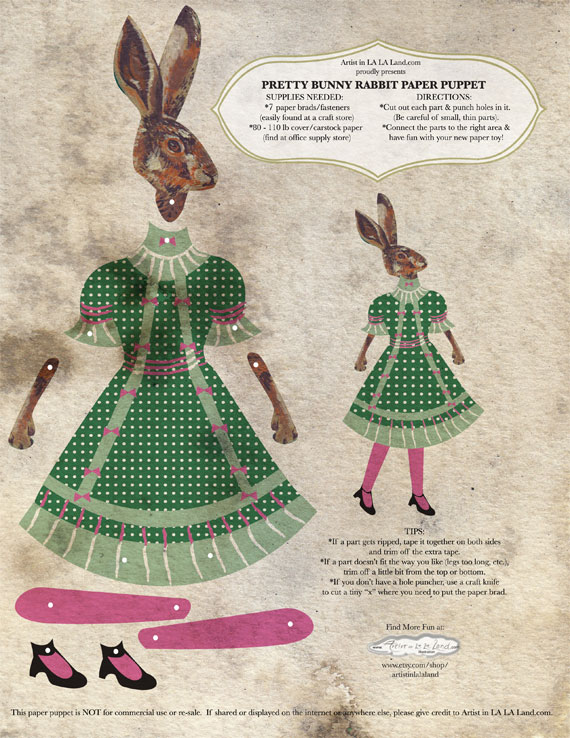 Web-1-Pretty-Bunny-Rabbit-Paper-Puppet---Artist-in-LA-LA-Land