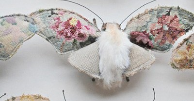 Textile Sculptures by Mister Finch.