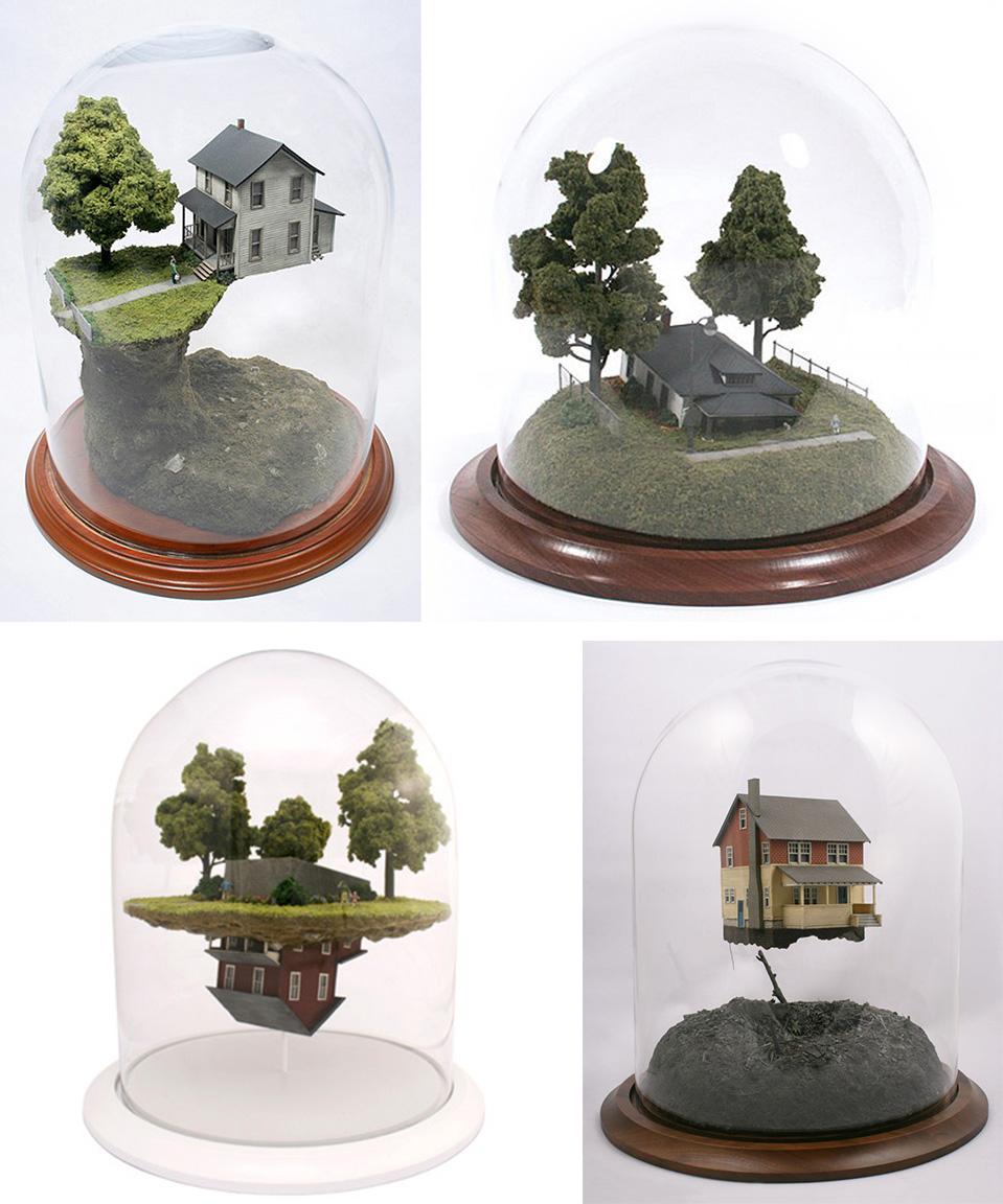 4 dioramas