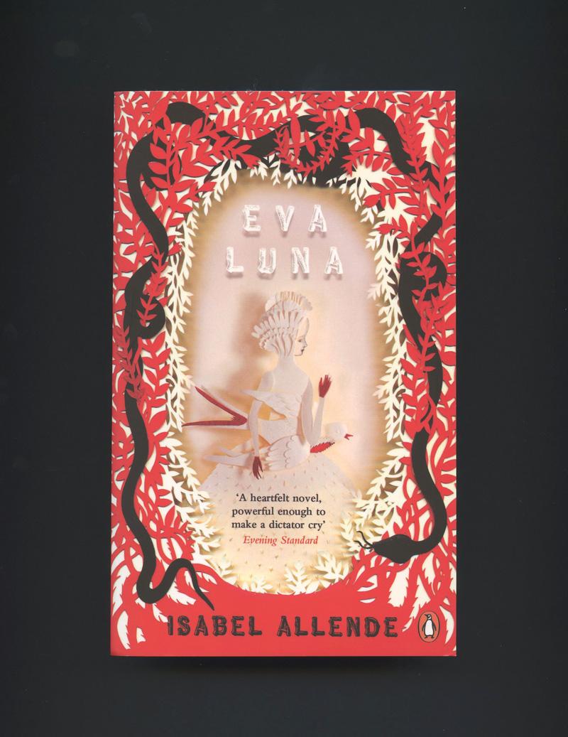 Eva Luna by Isabel Allende. Cover by Elsa Mora