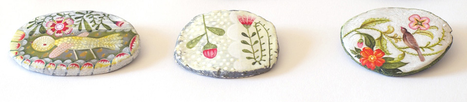 One of a Kind Brooches.