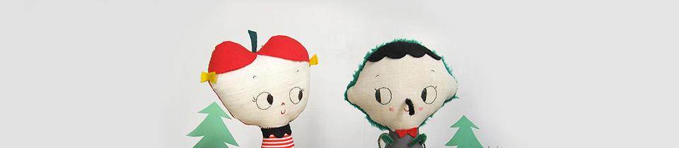 Eva Monleón's Unique Handmade Characters.