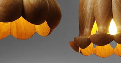 Flower Lamps by Laszlo Tompa.