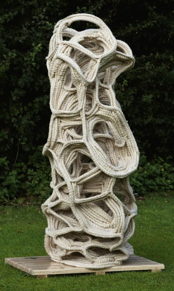 Judy Tadman Rope Sculptures. Art