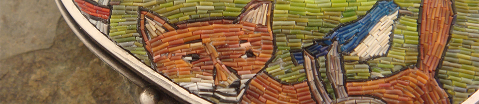 Micromosaic Jewelry by Cynthia Toops.