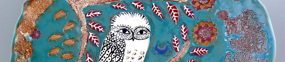 Beautiful Ceramics by Cathy Kiffney.