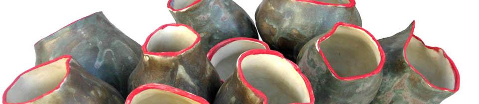 Ceramics by Amy Meya.