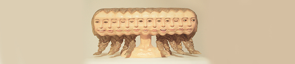 Wood Sculptures by Yoshitoshi Kanemaki.