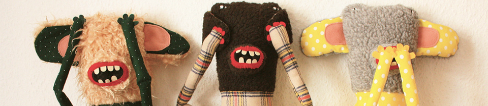 Plush Toys by Tania Patritti.
