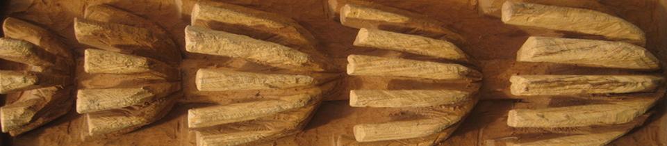 Beautiful Wood Carvings by Nora Leschinski.
