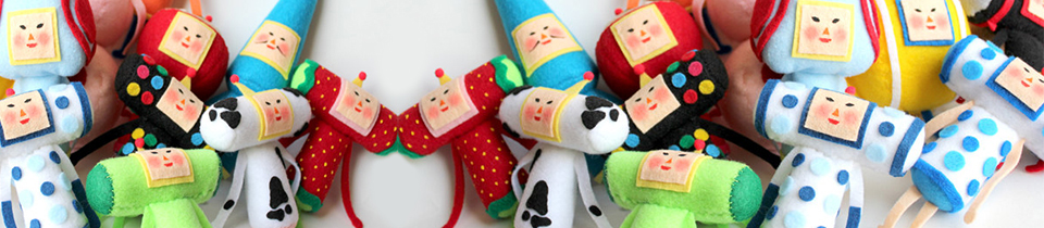 Plush Toys by Alice.