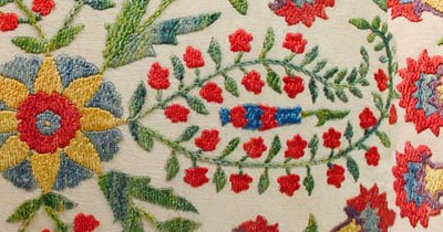 Beautiful Embroidered Pillows.