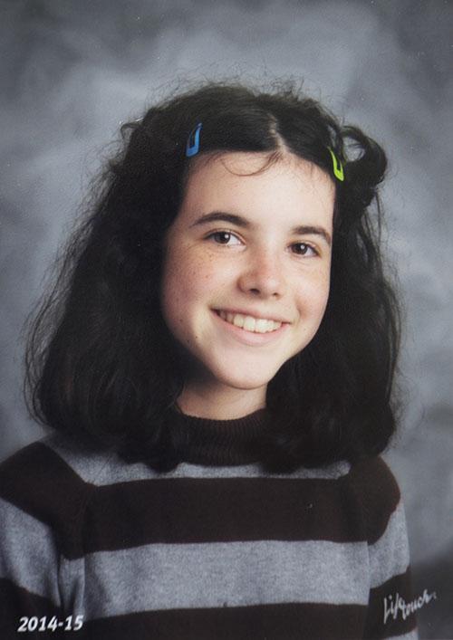 Natalie's portrait Woodstock small