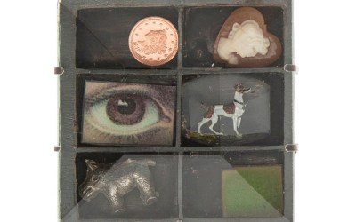 Mixed Media Brooches by Grainne Morton