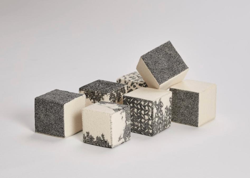Richard McVetis' Fiber Sculptures