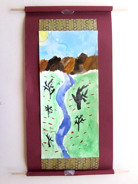 Chinese Landscape scrolls