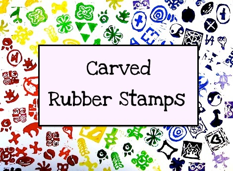 african adinkra carved stamps art for auction 5th and 6th grade