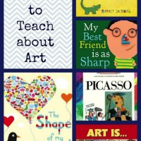 25 Amazing Books for Teaching about Art