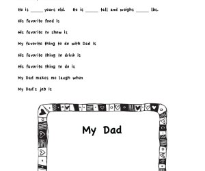 Father's Day Interview | Grandpa & Dad Questions | Free Printable