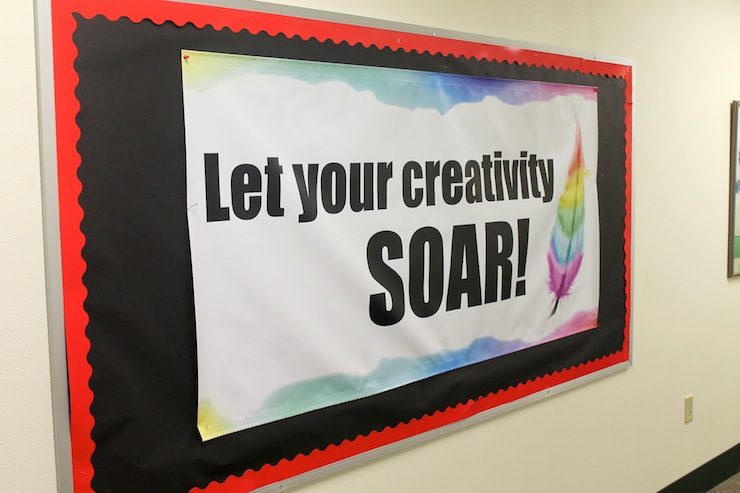 Let Your Creativity Soar banner