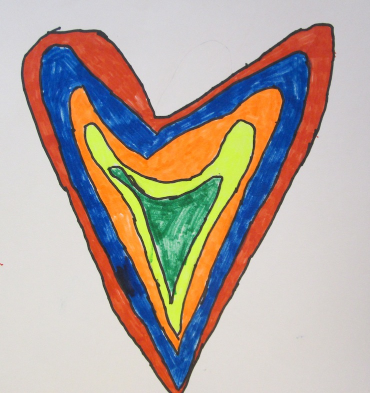 Concentric Hearts 2