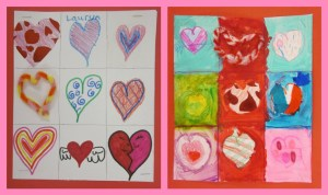 A Page of Hearts (Valentine's Pictures)