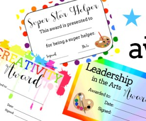 Getting to Know You Sheets and Printable Art Awards in TPT Shop