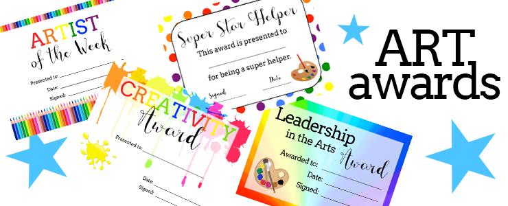 free printable award certificate template award certificate - Art Award Certificate Template