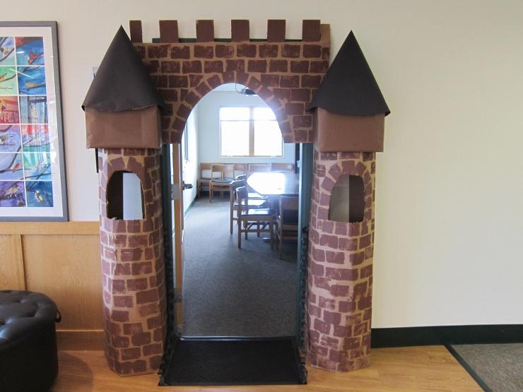 Castle Door Decoration