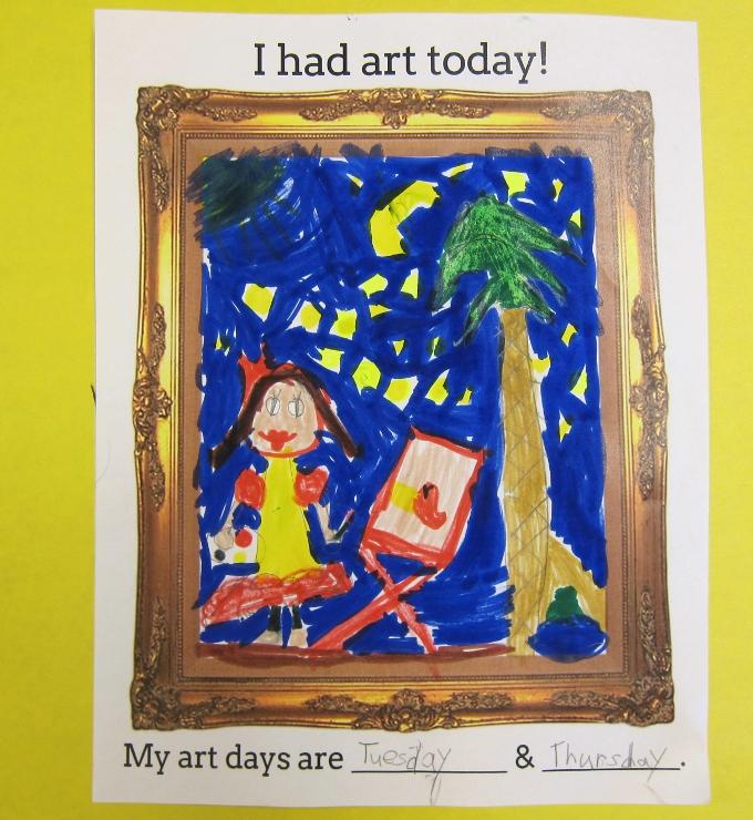 First Day of Art Class (3)