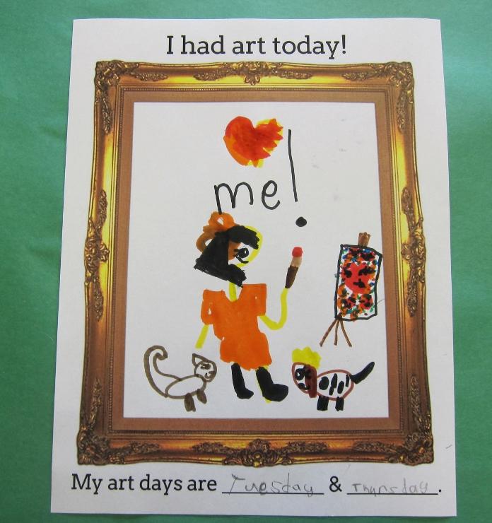 First Day of Art Class (4)
