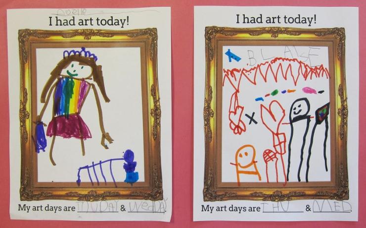 First Days of Art Class