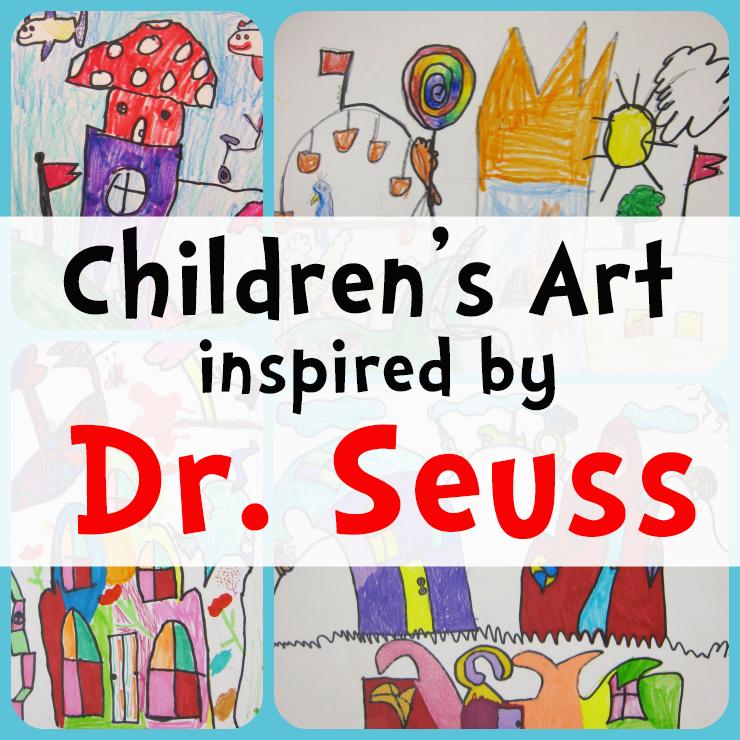 Dr Seuss Style Art