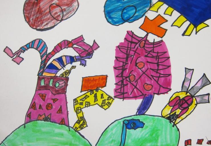 Dr Seuss Inspired Art Project (5)